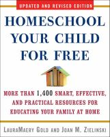 Homeschool your Child for Free