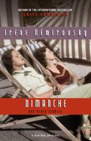 Dimanche [and Other Stories]