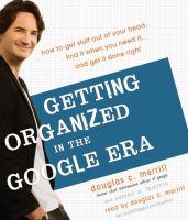 Getting Organized in the Google Era