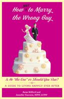 How Not to Marry the Wrong Guy