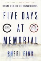 Five Days at Memorial cover image.