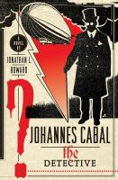 Johannes Cabal, the Detective