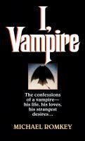 I, Vampire