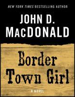 Border Town Girl