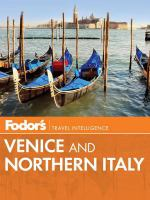 Fodor's Venice and Northern Italy
