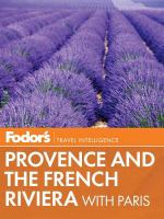 Fodor's Provence and the French Riviera
