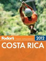 Fodor's 2012 Costa Rica