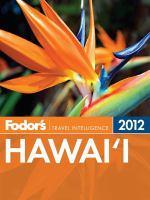 Fodor's 2012 Hawai'i