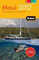 Fodor's 2012 Maui