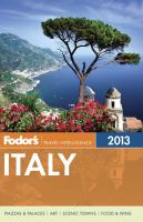 Fodor's Italy, 2013