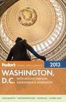 Fodor's 2013 Washington, D.C