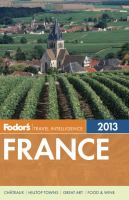 Fodor's 2013 France
