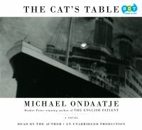The Cat's Table: [a Novel]