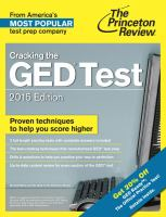 Cracking the GED® Test
