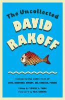 The Uncollected David Rakoff