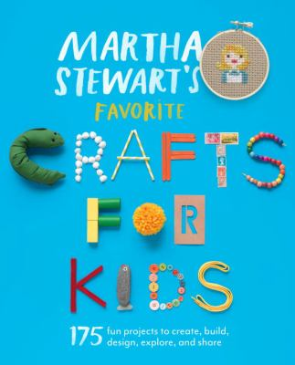 Martha Stewart's Favorite Crafts for Kids(book-cover)