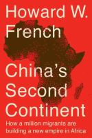 China's Second Continent
