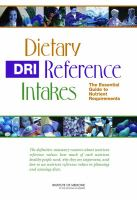 DRI, Dietary Reference Intakes
