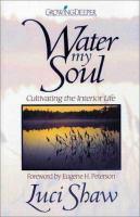 Water My Soul