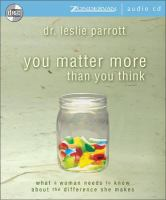 You Matter More Than You Think