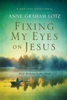 Fixing My Eyes on Jesus