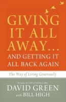 Giving It All Away -- and Getting It All Back Again