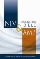 NIV & Amplified Side-by-side Bible