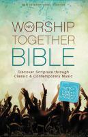NIV Worship Together Bible