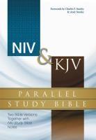 NIV & KJV Parallel Study Bible