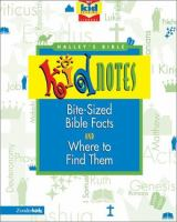 Halley's Bible Kidnotes