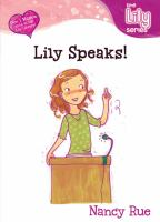 Lily Speaks!
