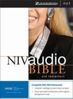 NIV Dramatized Audio Old Testament