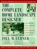 The Complete Home Landscape Designer