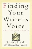 Finding your Writer's Voice