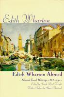 Edith Wharton Abroad