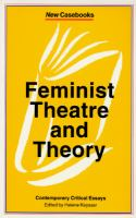 Feminist Theatre and Theory