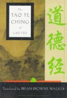 The Tao te ching of Lao Tzu : a new translation