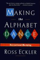 Making the Alphabet Dance