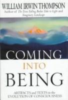 Coming Into Being