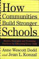 How Communities Build Stronger Schools