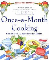 Once-a-month Cooking