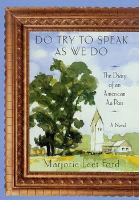 Do Try to Speak as We Do
