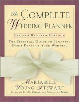 The Complete Wedding Planner