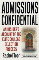 Admissions Confidential