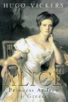 Alice, Princess Andrew of Greece