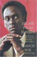 Escape From Slavery