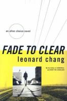 Fade to Clear