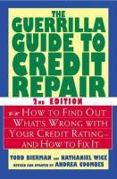 The Guerrilla Guide to Credit Repair
