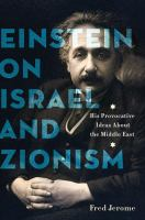 Einstein on Israel and Zionism