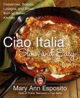 Ciao Italia Slow and Easy